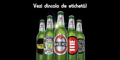 Beck's incurajeaza artistii romani sa recreeze etichetele sticlelor de bere