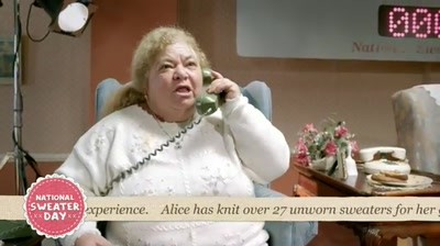 WWF Canada National Sweater Day - Granny Call Centre