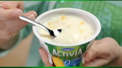 Activia Light - 0% grasime, 100% placere