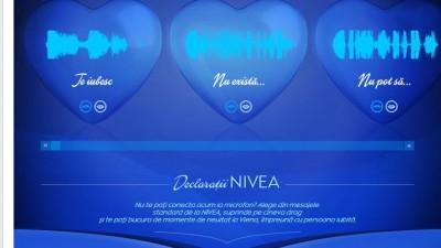 Aplicatie de Facebook: Nivea - Da forma iubirii tale, Declaratii