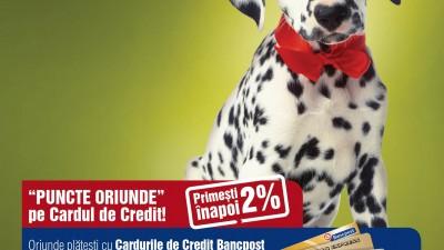 Bancpost Credit Card - Dalmatian (print)