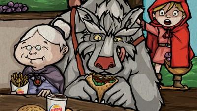 Burger King - Little Red Riding Hood