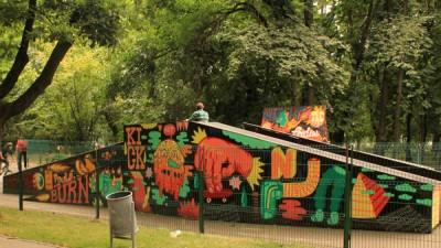 Burn - Decorarea Streetpark Herastrau, 6