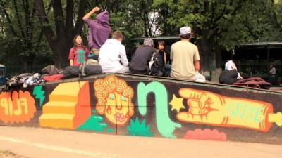 Burn - Decorarea Streetpark Herastrau, 9