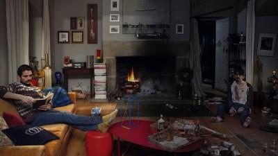 Corona Beer - Living Room