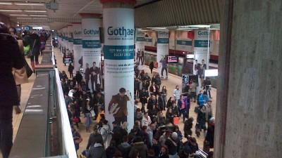 Gothaer - Implementare speciala metrou Unirii, 2