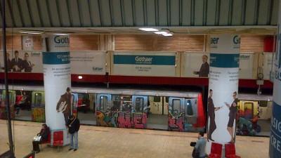 Gothaer - Implementare speciala metrou Unirii, 3