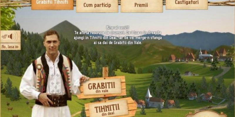 Grabitii din Vale si Tihnitii din Deal se impaca intr-o campanie Senior Interactive pentru Napolact