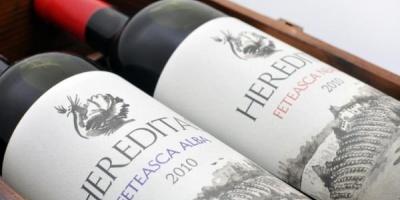 Dropia este elementul central al identitatii create de BrandFusion pentru noul brand de vinuri Hereditas