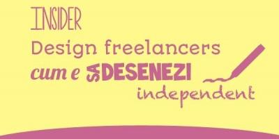[Design Freelancers] Vlad Mihai (Cutarica): Daca tragi tare, intr-o luna poti scoate de 3 ori salariul pe care il aveai la agentie