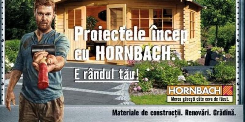 Noua campanie internationala Hornbach ajunge si in Romania