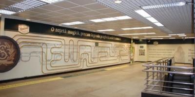 Lowe&Partners a mutat fabrica de bere Staropramen in statia de metrou Piata Victoriei