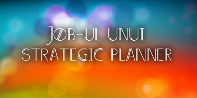 [Strategic Planning] Corina Iovan (Propaganda): Strategul este cel care descalceste itele unui proiect