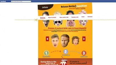 Aplicatie de Facebook: LaFesta - Reteaua LaFesta
