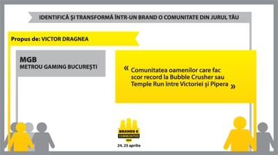 Brands & Communities 2013. Grow your audience - Concurs Facebook