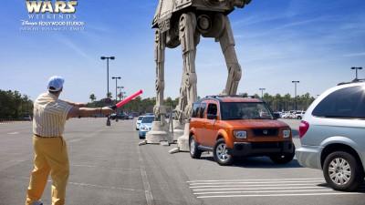 Disneyland - Parking lot