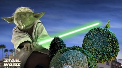 Disneyland - Yoda