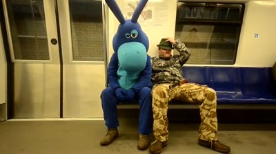 FunkyDonkey - La metrou