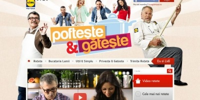"""BrandUP a dezvoltat website-ul, aplicatia de Facebook si aplicatia mobile a campaniei """"Pofteste si Gateste"""""""