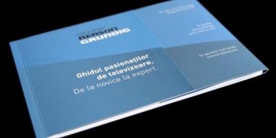 pastel semneaza noul website, versiunea mobile si catalogul Grundig