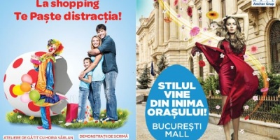 Campanii promotionale de Paste in Bucuresti Mall si Plaza Romania