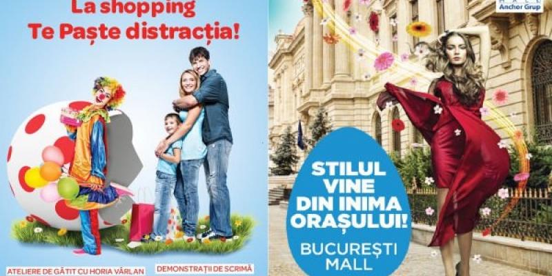 Campanii promotionale de Paste in Bucuresti Mall si Plaza Romania