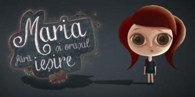 """Animatie in 8 episoade, banner-to-banner, in campania sociala """"Maria si Orasul fara iesire"""""""