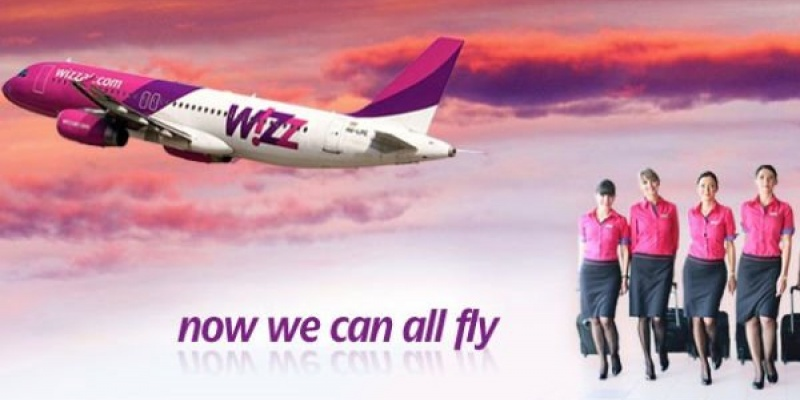 Wizz Air muta 4 din 8 rute din Roma pe Ciampino, 3 dintre ele fiind din si spre Romania