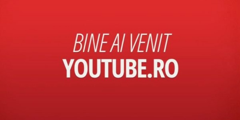YouTube a lansat versiunea locala YouTube.ro