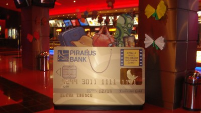 Piraeus Visa Exact si Piraeus Visa Exclusive Gold - Card Supradimensionat