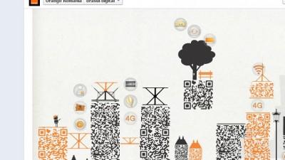 Aplicatie de Facebook: Orange - Orasul Digital