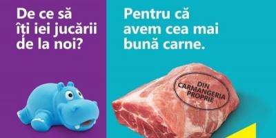 """Propaganda da romanilor motive de aprovizionare in campania """"Selgros.Merita."""""""