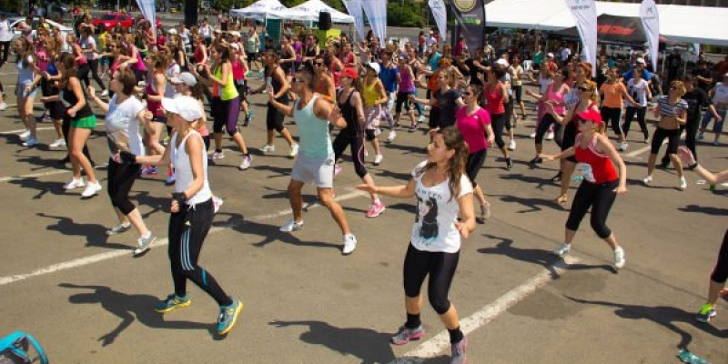 1.500 de participanti la Festivalul de Fitness World Class de la Bucuresti