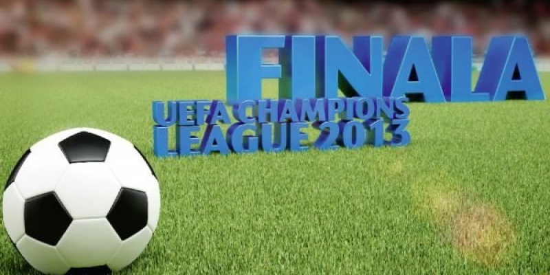 Dolce Sport transmite live 3D finala Champions League 2013