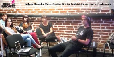 [IQads Kadett] Mihnea Gheorghiu despre cum sa-ti aperi ideile de asasinate