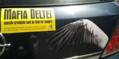 Mafia Deltei, prezentata de Propaganda intr-o campanie pentru Salvati Dunarea si Delta