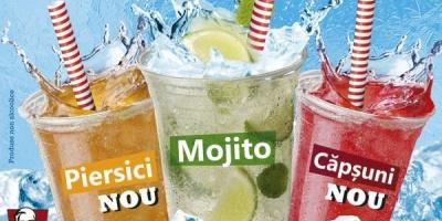 KFC lanseaza gama de bauturi racoritoare Krushers Mocktail