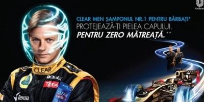 CLEAR trimite soferii pe un circuit de Formula 1