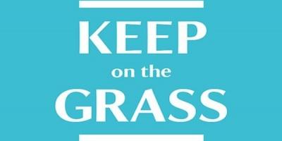 Dar va rugam, calcati iarba!