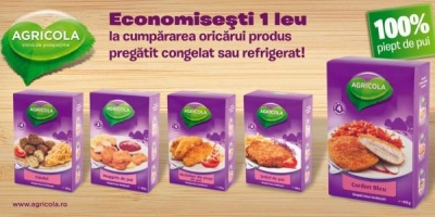 Campanie promotionala AGRICOLA Bacau si Grup Sapte pentru produsele pre-gatite