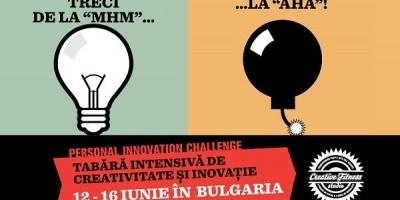 Patru zile de cursuri si ateliere de rebranding personal in cadrul Personal Innovation Challenge