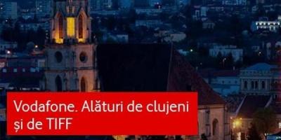 Vodafone, pentru al 12-lea an la TIFF: activari si oferte in Cluj-Napoca