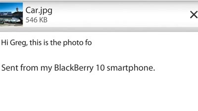 BlackBerry 10 - File Manager for Personal & Business