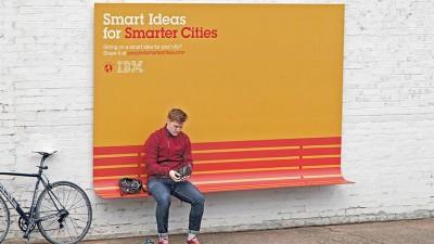 IBM - Smarter City - Bench