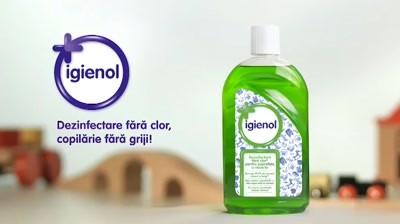 Igienol - Dezinfectare fara clor, copilarie fara griji