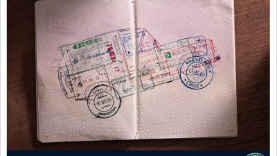 Land Rover Defender - Stamps