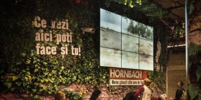 Hornbach a reamenajat statia de metrou Unirii 2
