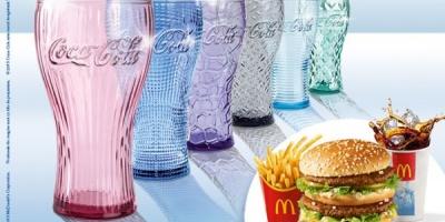 Pentru al 3-lea an consecutiv, McDonald's lanseaza o colectie de pahare unice