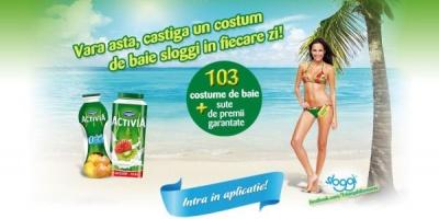 Danone lanseaza concursul Vara Activia cu premii constand in costume de baie