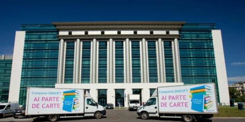 DIM SOFT doneaza 20.000 carti unor scoli si biblioteci publice din Romania